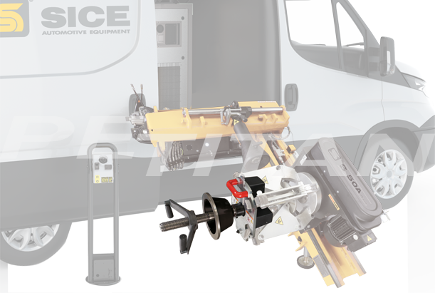 Sice S750 teher kerékkiegyensúlyozó 2