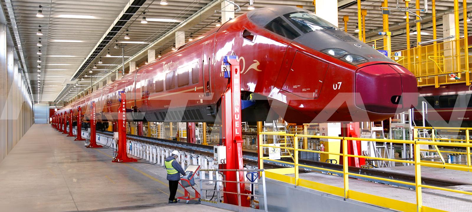Emanuel SCM vasútikocsi- és mozdonyemelő 3