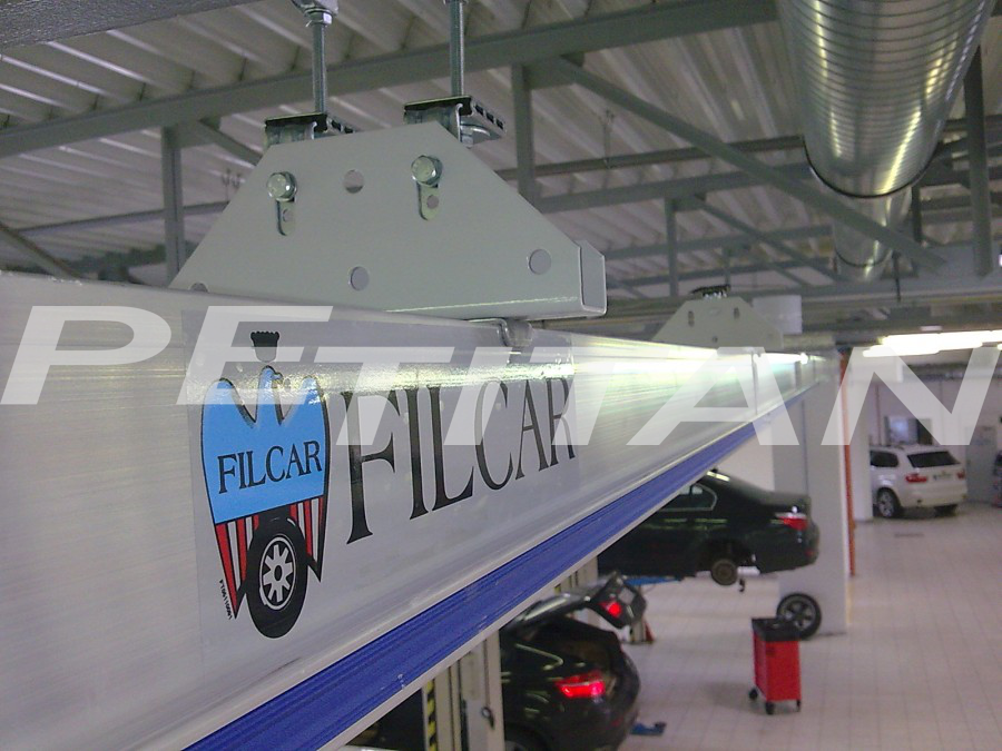 Filcar ECOSYSTEM-B-6/1 sínes elszívó 3