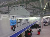 Filcar ECOSYSTEM-A-6/1 sínes elszívó 3