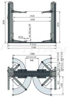 Space SDC2306C3 csápos emelő 2