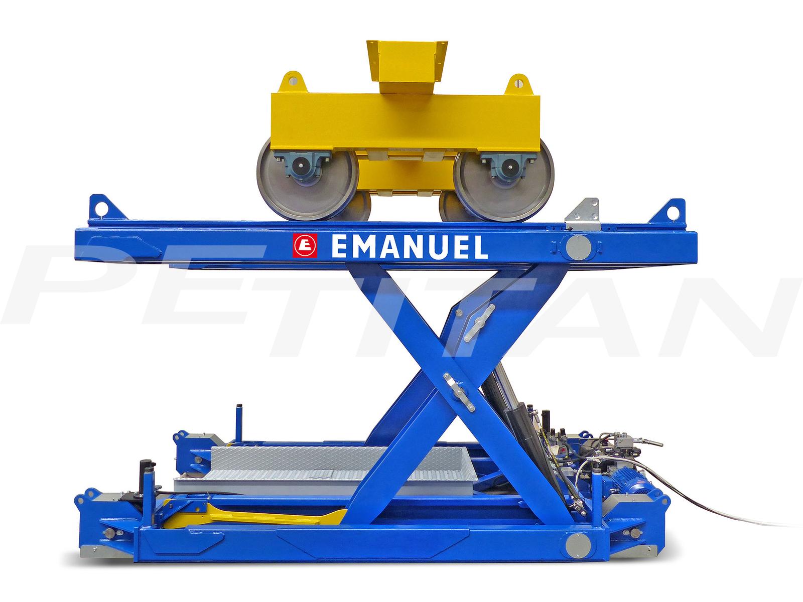 Emanuel CSF vasútiforgóváz-emelő 3