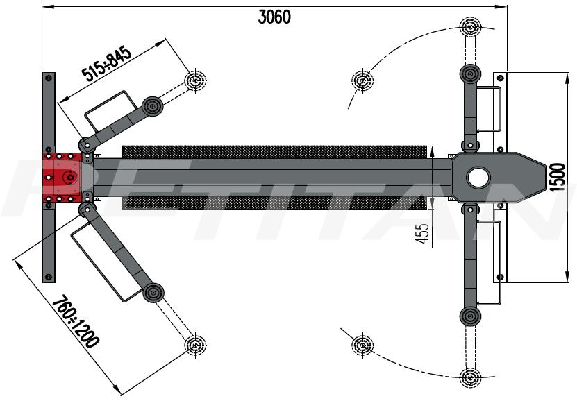 Sice PDC 30 csápos emelő 3
