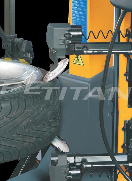 Sice S100 PL bontóvas nélküli kerékszerelő 2