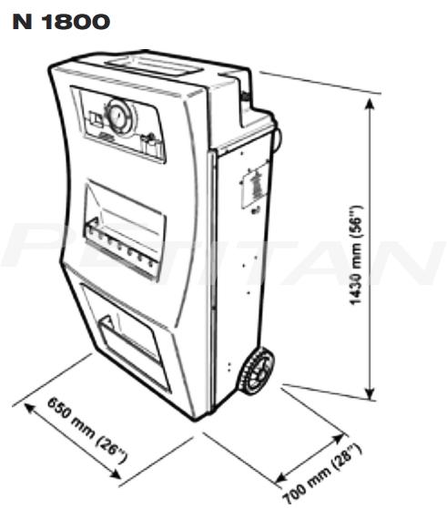 Sice N300 nitrogén-inflátor 5