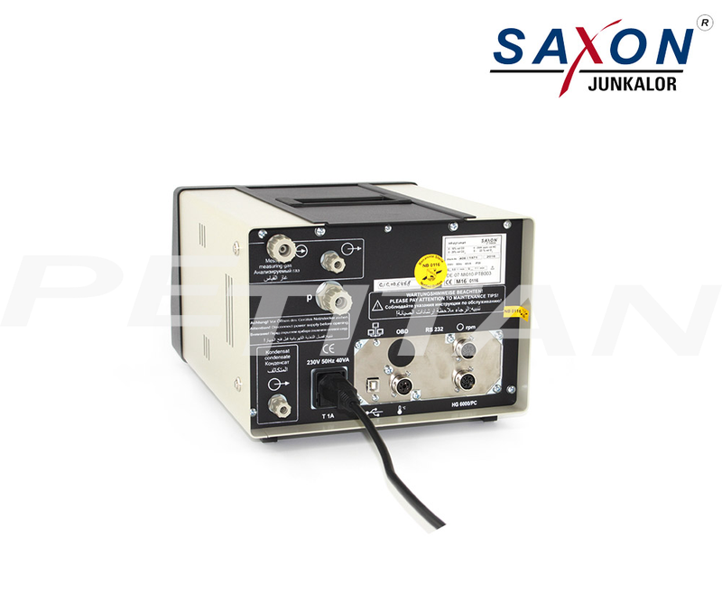 Saxon-Junkalor Infralyt Smart gázelemző 2
