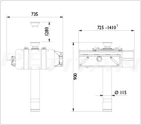 AC Hydraulic GDT150 aknaperem-emelő 2