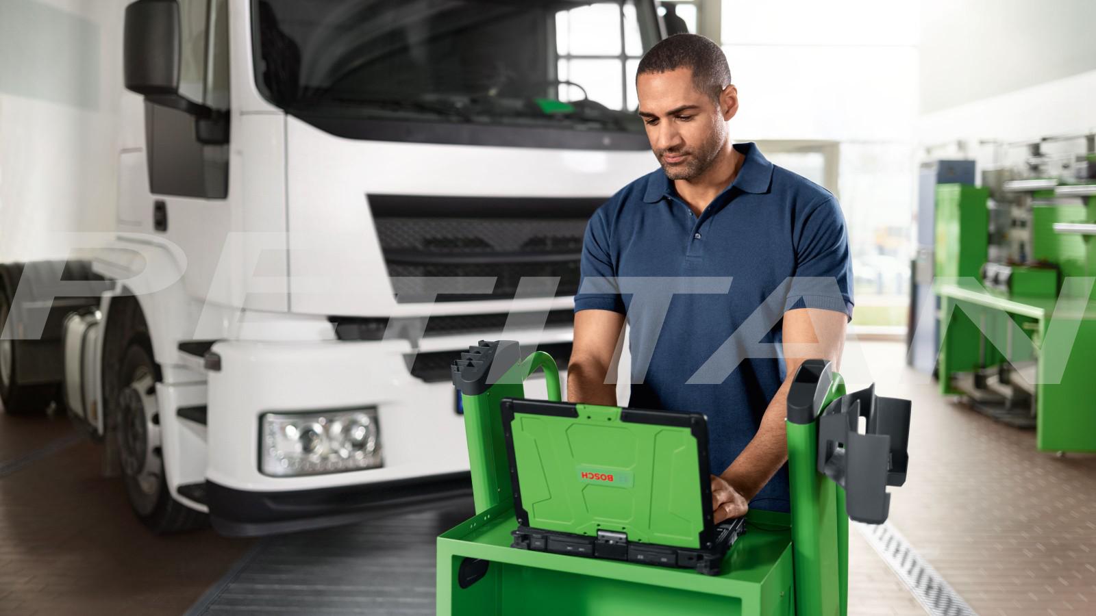 Bosch KTS 900 Truck diagnosztikai műszer 2