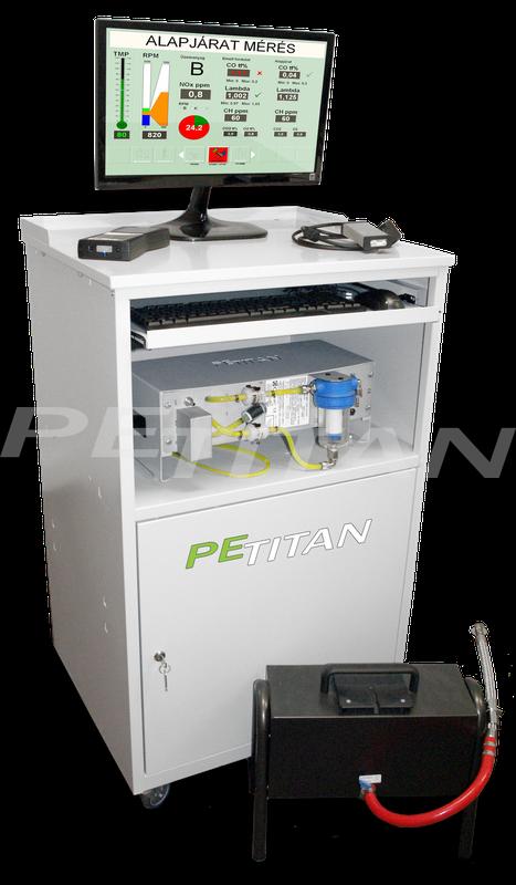 PeTitan emissziómérő állomás 1