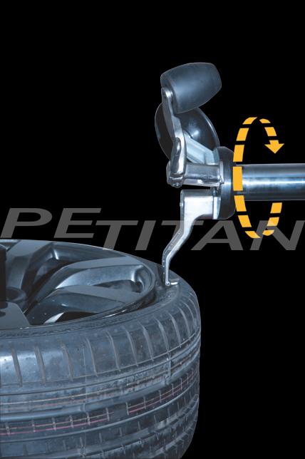 Sice S1000 Evoluzione szerelővas mentes kerékszerelő 6