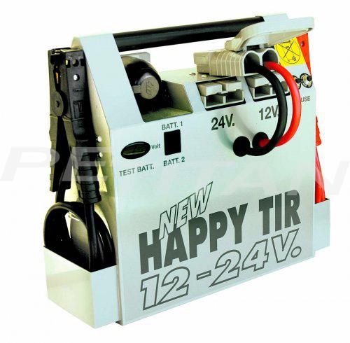 Spin  HAPPY TIR NEW 12-24V akkumulátortöltő, gyorsindító, bikázó 1