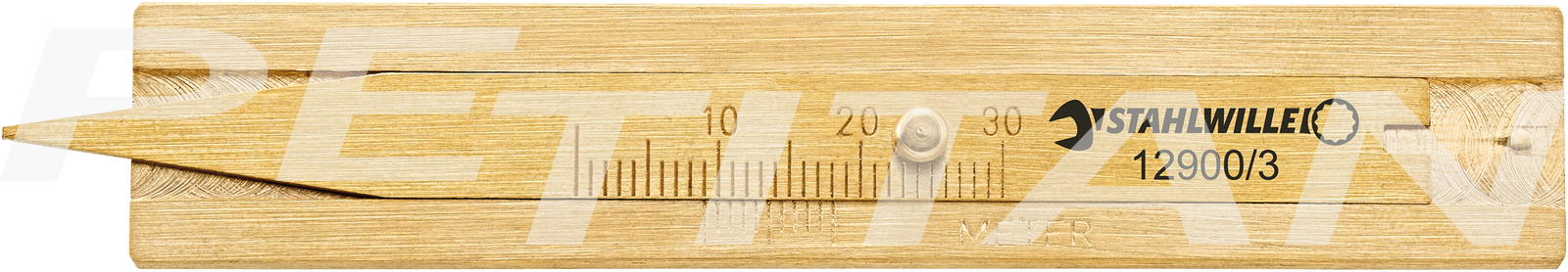 Stahlwille 12900/3 gumiprofilmélység-mérő 1
