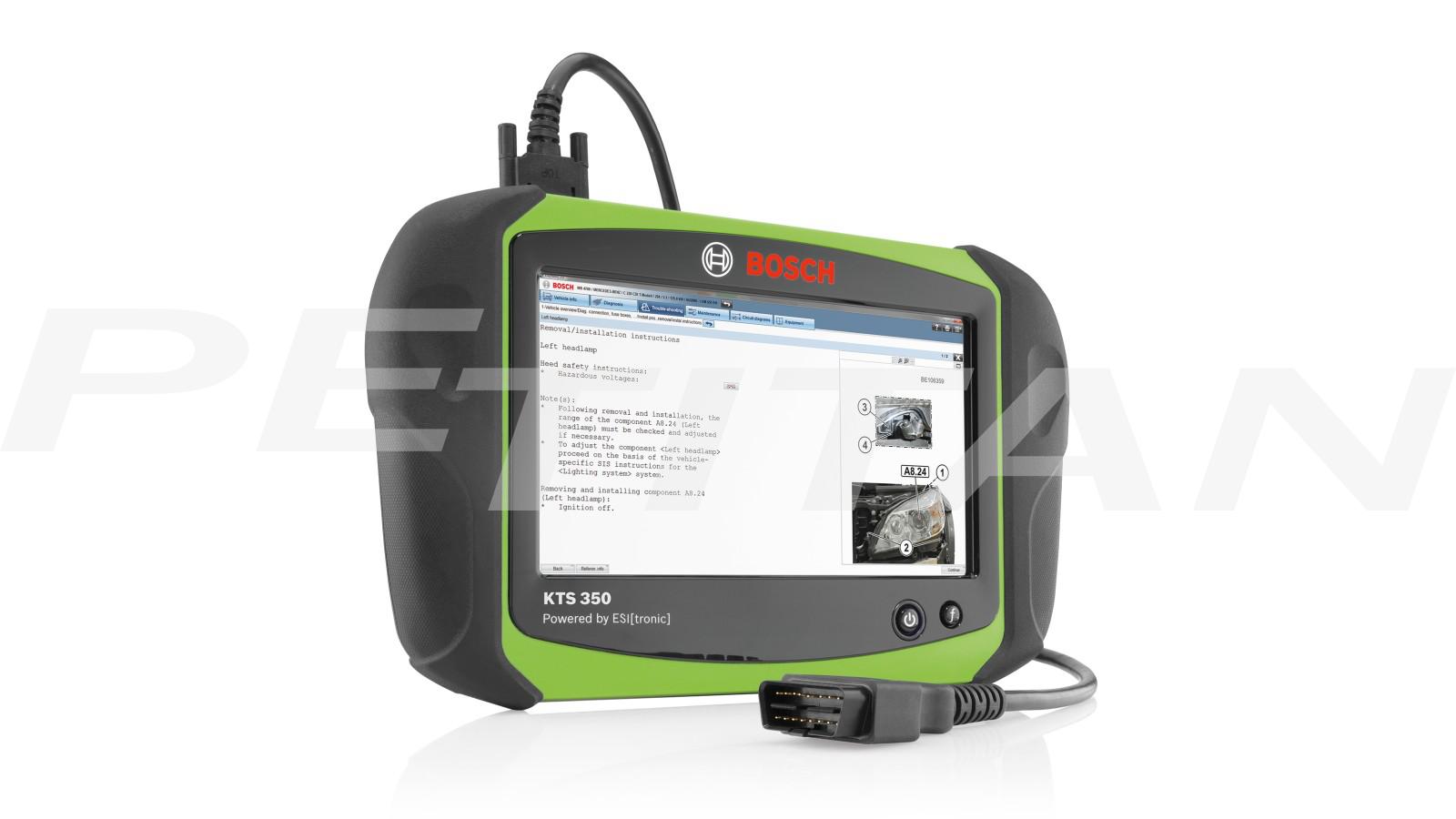 Bosch KTS 350 diagnosztikai műszer 1