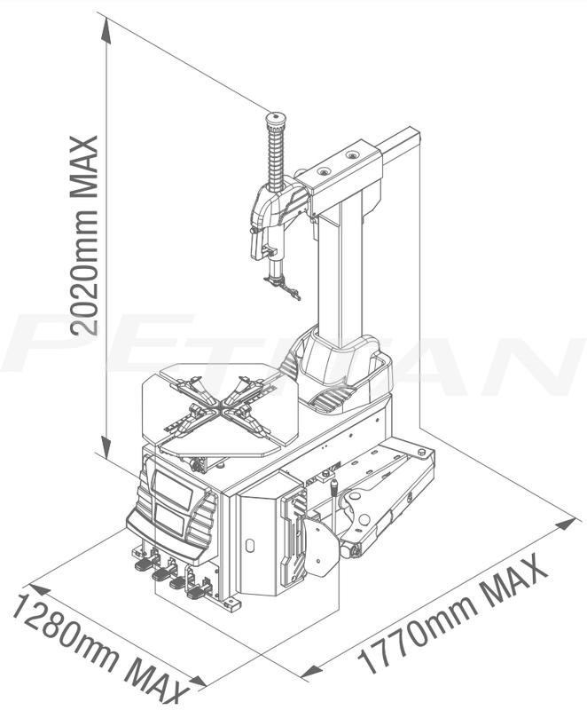 Sice FL41 A 2V automata kerékszerelő 3