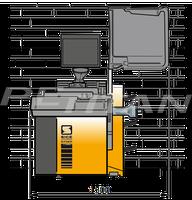 Sice S75E Touchscreen személy kerékkiegyensúlyozó 3