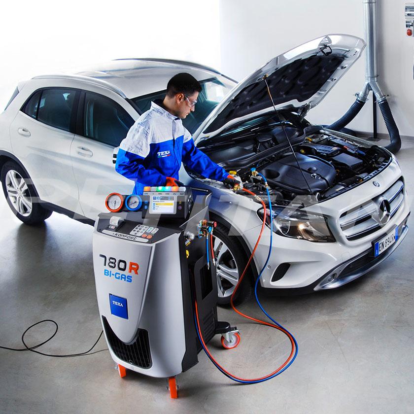 Texa Konfort 780R BI-GAS klímaszerviz-berendezés 5