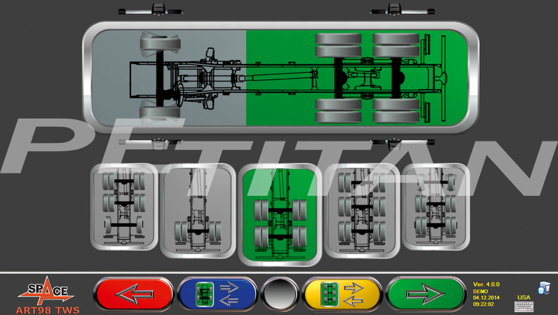Space Active Truck ART 98TWSR teher futómű-beállító 4