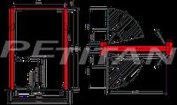 Sice PDCH 55 XV csápos emelő 2