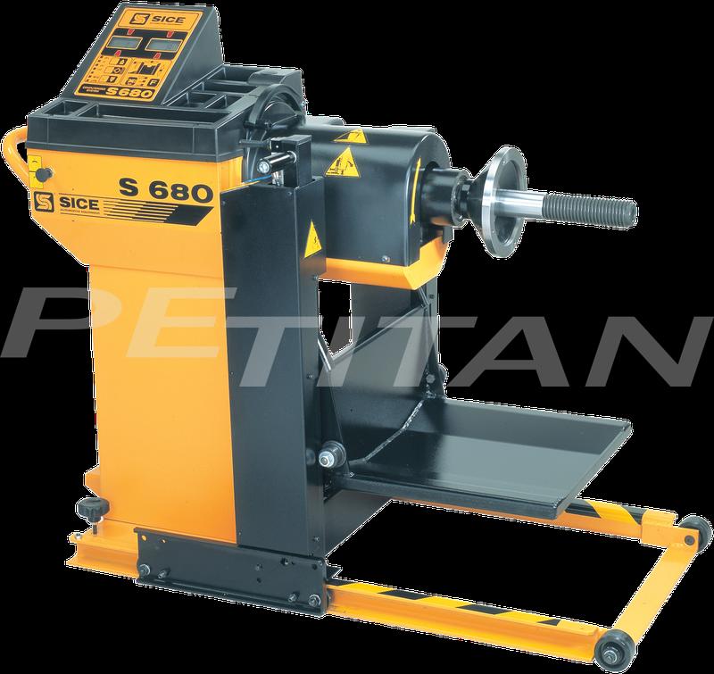 Sice S680 teher/személy kerékkiegyensúlyozó 1