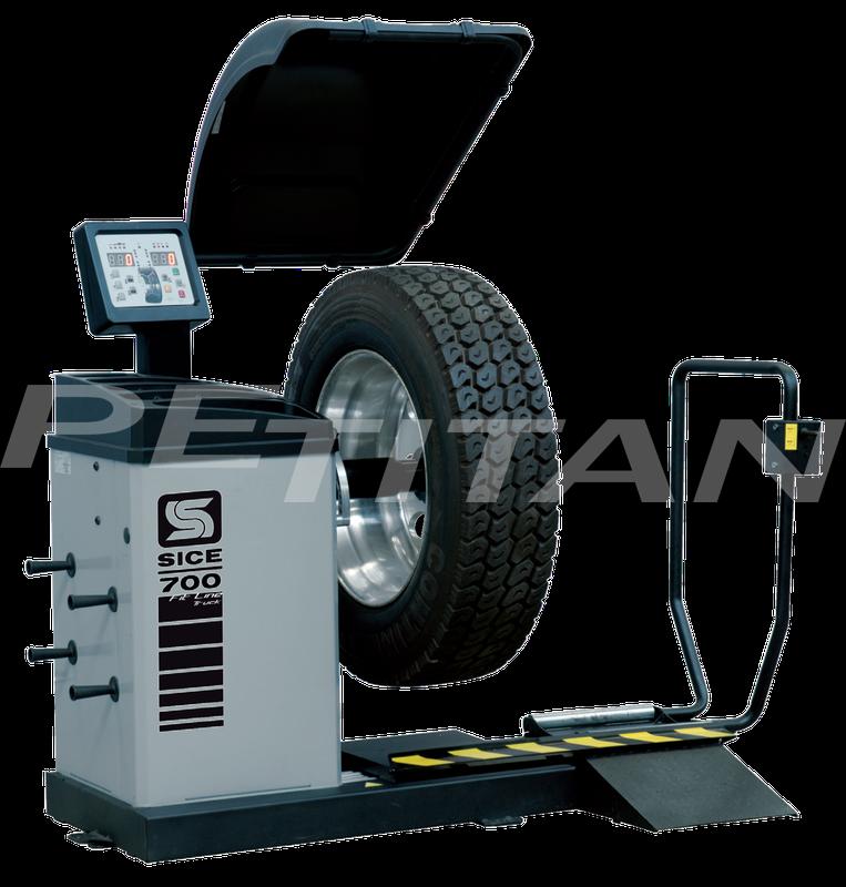 Sice FL700 teher/személy kerékkiegyensúlyozó 1