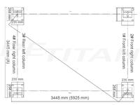 Launch TLT-440W négyoszlopos emelő 2