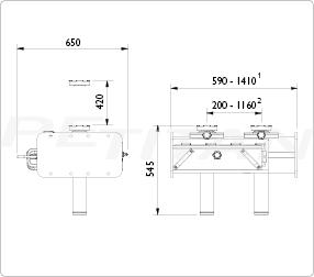 AC Hydraulic GD100-2 aknaperem-emelő 2