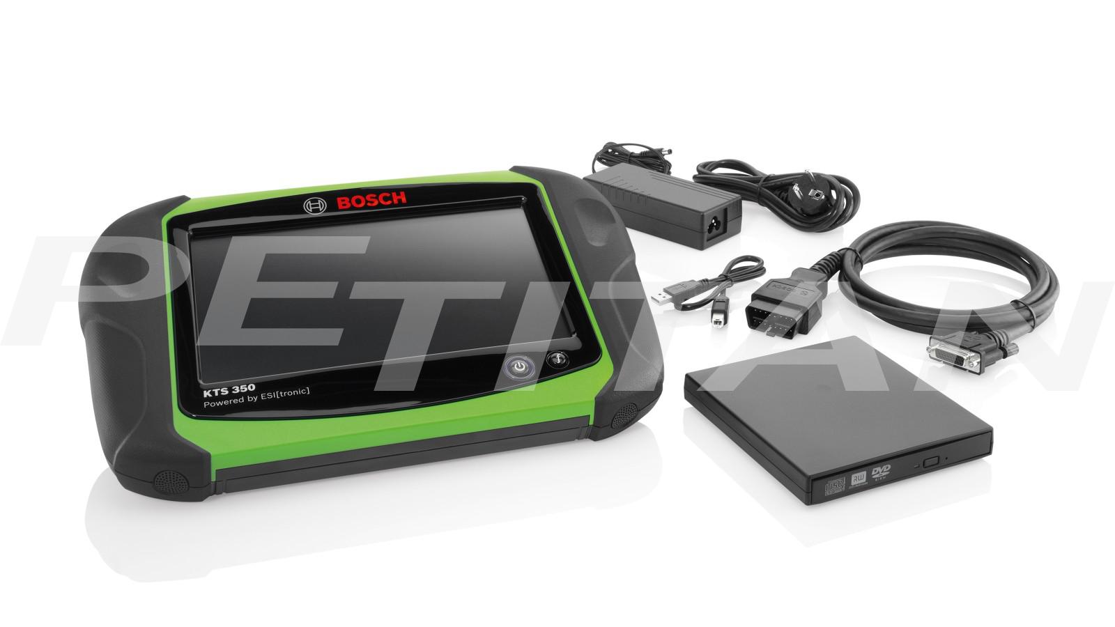 Bosch KTS 350 diagnosztikai műszer 3