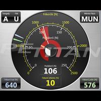 PeTitan PEFT 16 tehergépkocsi fékerőmérő szett 2