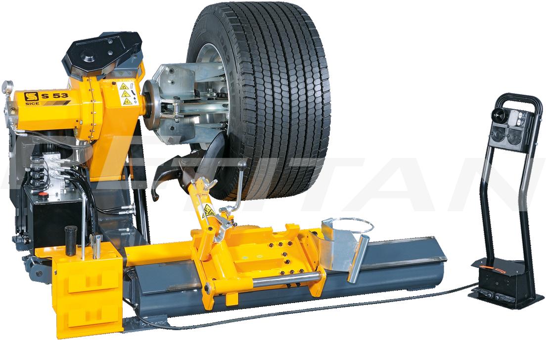 Sice S53 félautomata tehergépjármű-kerékszerelő 1