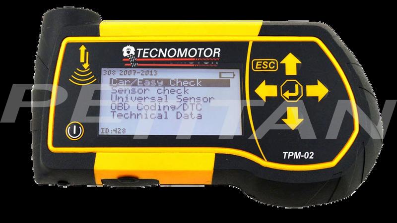Tecnomotor TPM-02 guminyomás-szenzor ellenőrző 1