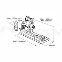 Sice S52A félautomata tehergépjármű-kerékszerelő 2