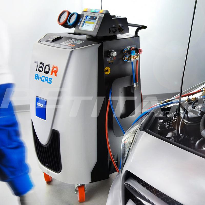 Texa Konfort 780R BI-GAS klímaszerviz-berendezés 6