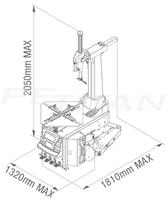 Sice FL44 A 2V automata kerékszerelő 2