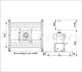 AC Hydraulic GGD150S emelő 3