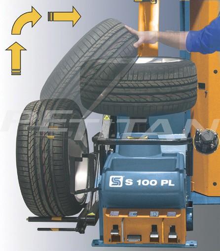 Sice S100 PL bontóvas nélküli kerékszerelő 3
