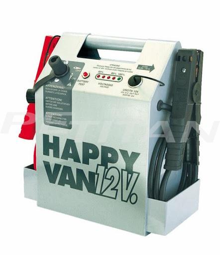 Spin   HAPPY VAN 12V akkumulátortöltő, gyorsindító, bikázó 1